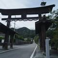 写真: 武田八幡宮01_二の鳥居-0048266