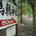 写真: 武田八幡宮05_為朝神社_GXR-0048268