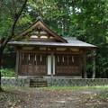 写真: 武田八幡宮06_為朝神社_GXR-0048274
