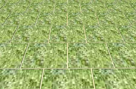 芝生貼り4