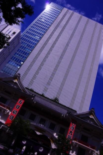 新しい歌舞伎座ビル・・ 20140629