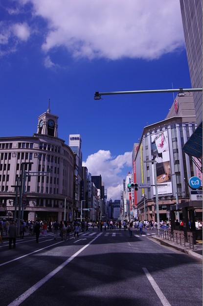 休日の昼下がりの銀座散歩・・20140629