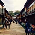 Photos: 金沢ひがし茶屋街の街並み。。2月15日