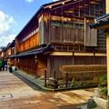Photos: 重要伝統的保存建造物群保存地区。。ひがし茶屋街 2月15日