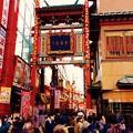 Photos: 大いに盛り上がりを見せる横浜中華街春節。。市場通り門 2月21日