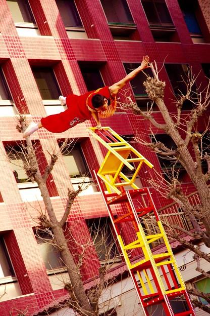 かなりの力とバランス。。横浜中華街春節 2月21日