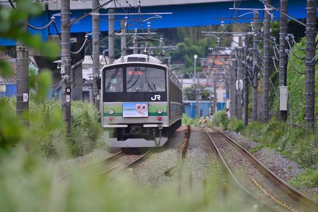 25年間の集大成・・ありがとう横浜線205系 20140823