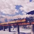 Photos: 昔の面影風に大井川鐵道SL。。懐かしさを。。