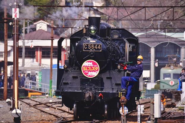 大井川鐵道SLフェスタ。。2台目SLも移動開始。。