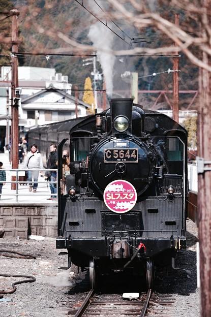 大井川鐵道SL C56 44客車へ連結移動。。