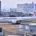 羽田空港。。JALのB787-8 タキシング。。20170325