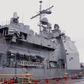 生憎に雨。。一般公開されたミサイル駆逐艦シャイロー 20170326