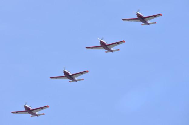 静浜基地航空祭。。静浜のT-7編隊飛行 20170521