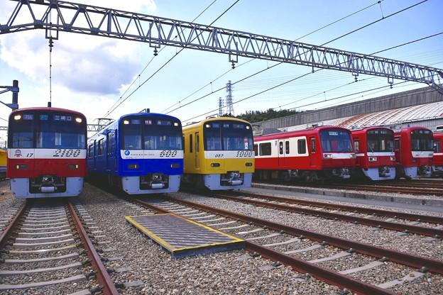 京急を支える車両達。。京急鉄道フェスタ 20170528