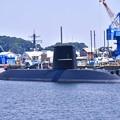 朝の横須賀基地。。海自の潜水艦 20170610