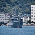 軍港めぐりに乗って。。退役した木造船 旧掃海艇はちじょう 20170610