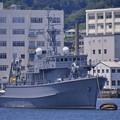 ついに最後の海上自衛隊木造艦 旧掃海艇はちじょう 20170610