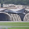 雨降る前。。嘉手納からウィスコンシン州のF-16