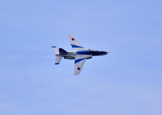 撮って出し。。千歳基地航空祭ブルーインパルス予行練習 7月22日