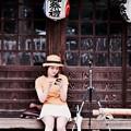 一休み。。(^^) 極楽寺駅付近の風景 20170625