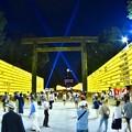魚眼で見る靖国神社みたま祭り。。20170715