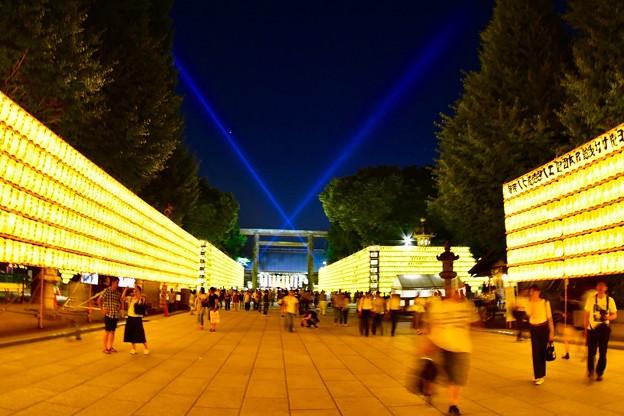 流れる靖国神社の時。。(^^)20170715