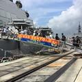 撮って出し。。米海軍横須賀基地開放へ艦船見学 8月5日