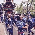 佐原の大祭 夏祭り・・山車の前で踊る踊り子・・20170716