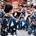佐原の大祭 夏祭り・・粋のいいお姉さん・・踊る 20170716