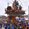 佐原の町並みを運行する山車たち(2)。。(^^)20170716