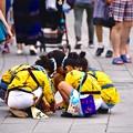 佐原の大祭風景。。何やら子供会議(^^) 20170716