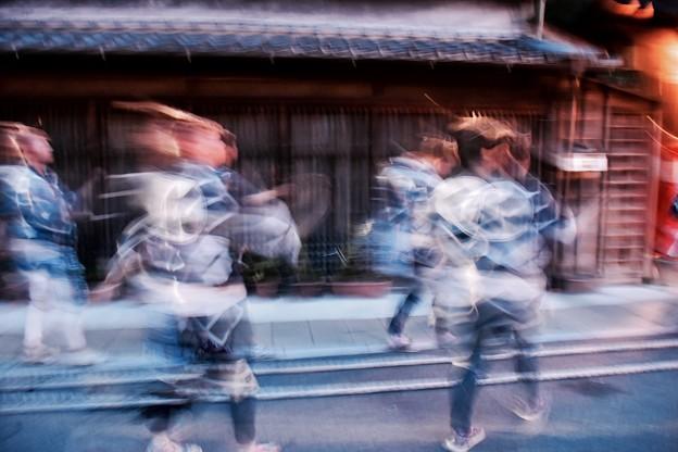 佐原の大祭夏祭り夜の踊り子。。20170716