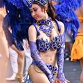 地元川崎のサンバ1回目。。踊りお姉さん(3) 20170717