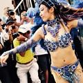 写真: 地元川崎のサンバ1回目。。踊りお姉さん(4) 20170717