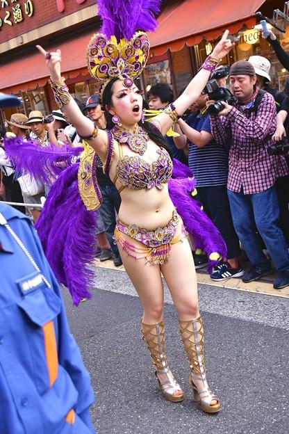 写真: 最後のサンバフィナーレ。。かわさき大師サマフェス 20170717