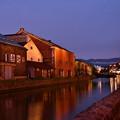 赤レンガと運河。。これが小樽(^^)20170722