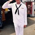 ミサイル駆逐艦ベンフォールド若手水兵さん 20170805