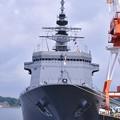 米海軍横須賀基地第12バース 海自 掃海母艦うらが 20170805