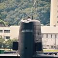 Iこう見ると潜水艦は大きい~潜水艦たかしお 20170805