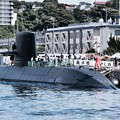 潜水艦たかしお。。甲板見学へ。。20170805