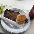 写真: 撮って出し。。横田基地友好祭モーニングステーキ食う(^^) 9月16