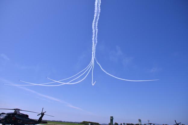 復興願い込めて。。松島の青い空へサンライズ