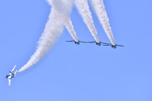 松島基地復興航空祭。。レターエイトへ。。ブルーインパルス