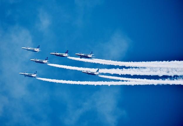 松島基地復興航空祭。。フェニックスロール。。(^^)