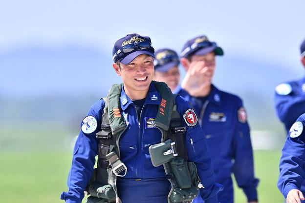 午前中の飛行訓練を終えて。。ブルーインパルスドルフィンライダー