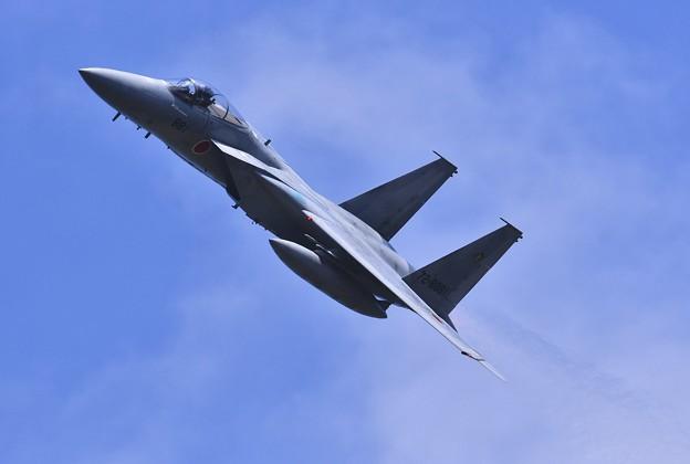 三沢基地航空祭。。頭上を高速で旋回。。F-15イーグル