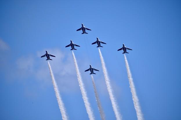 フェニックスループへ上昇。。三沢基地航空祭