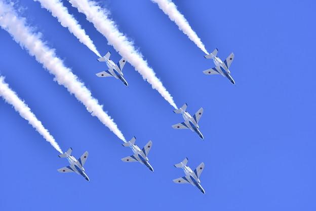 フェニックスループで降下して。。三沢基地航空祭