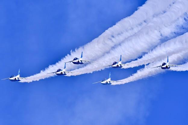 フェニックスループ。。綺麗な編隊飛行