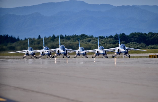 最後は6機そろって帰投。。三沢基地航空祭(^^)